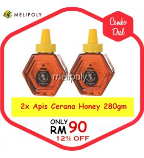 【Combo Deal】Melipoly Apis Cerana Honey (Malaysia Rainforest) 280GM *SET