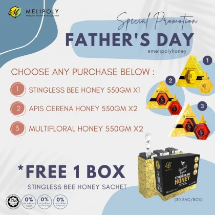 Melipoly Father's Day Promotion