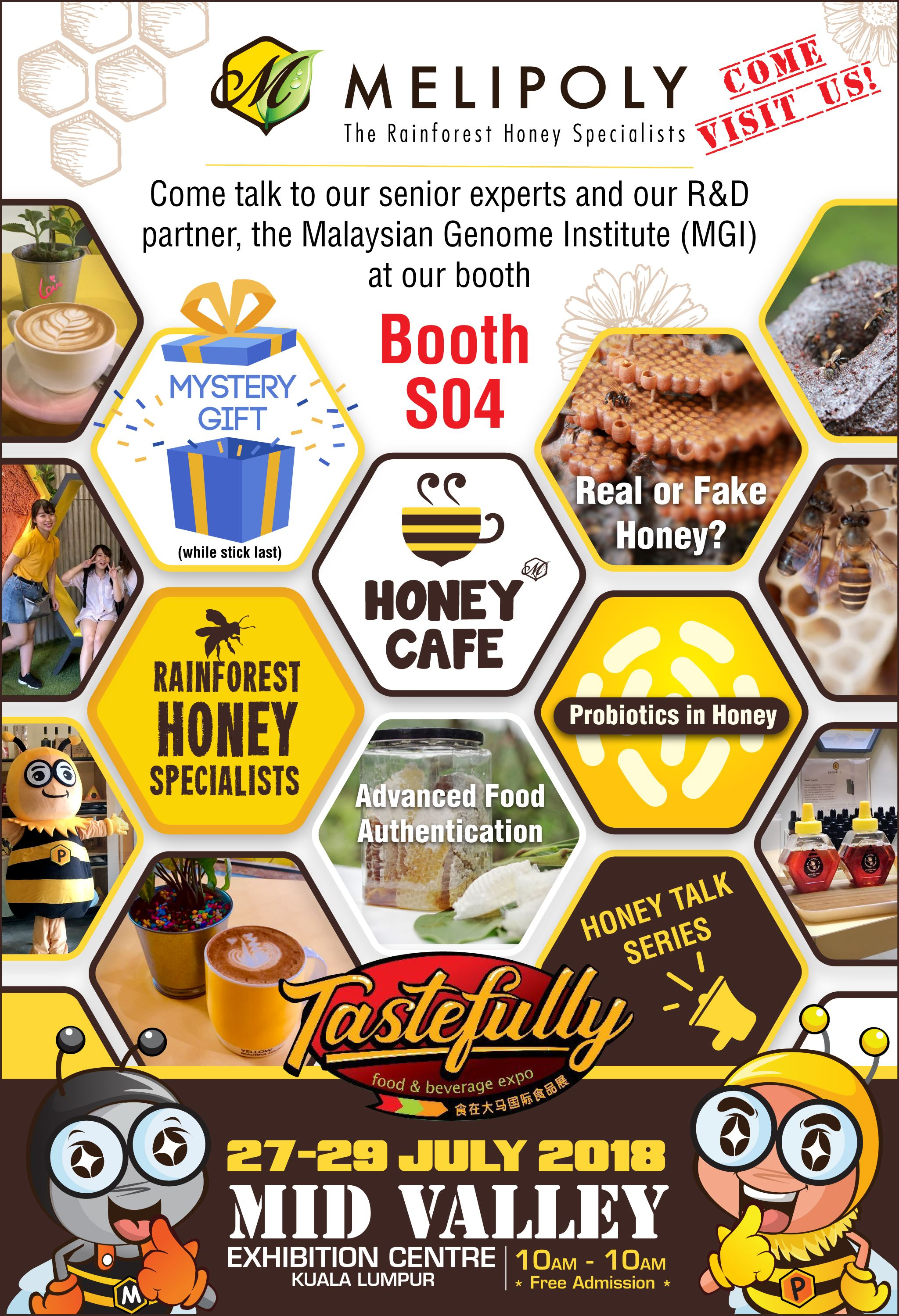 Melipoly - Tastefully F&B Expo 2018